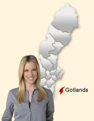 Dejting i Gotland Tusentals dejtingintresserade singlar i